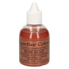 Оцветители и есенции - Перлен оцветител - Sugarflair Airbrush - Rose Gold