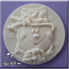 Калъпи за форми - Силиконова форма Alphabet Moulds - снежен човек