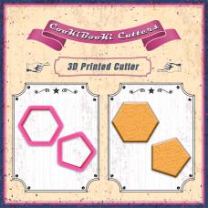 Резци на форми - Комплект резци - петоъгълник и шестоъгълник