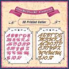 Комплект резци - Българска азбука Brush 3 см