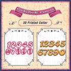 Комплект резци - цифри #02