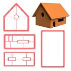 Модулен резец - Джинджифилова къщичка
