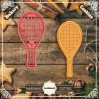 Резец с щампа - Тенис ракета