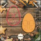 Резец с щампа - Великденско яйце #01