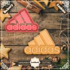 Резец с щампа - лого Adidas