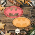 Резец с щампа - лого Батман