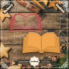 Резец с щампа - отворена книга