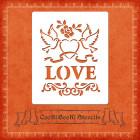 Силиконов шаблон - декор Love #01
