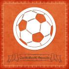 Силиконов шаблон - футболна топка #01