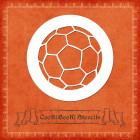 Силиконов шаблон - футболна топка #02