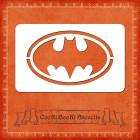 Силиконов шаблон - лого Batman