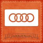 Силиконов шаблон - лого Audi