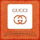 Силиконов шаблон - лого Gucci
