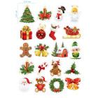 Ядливи стикери - Коледни стикери #01