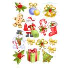 Ядливи стикери - Коледни стикери #02