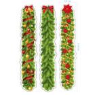 Ядливи стикери - Коледни декоративни ивици #02