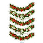 Ядливи стикери - Коледни декоративни ивици #03
