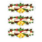 Ядливи стикери - Коледни декоративни ивици #04