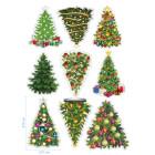 Ядливи стикери - Коледни елхи