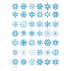 Ядливи стикери - Коледни снежинки