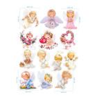 Ядливи стикери - ангелчета #02