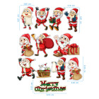 Ядливи стикери - Дядо Коледа #01