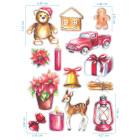 Ядливи стикери - Коледни герои #01