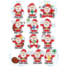 Ядливи стикери - Дядо Коледа #03