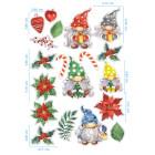 Ядливи стикери - Коледни гномчета