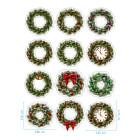 Ядливи стикери - Коледни венци