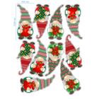 Ядливи стикери - Коледни гномчета #02