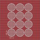 Ядливи текстури - шестостени в кръг