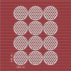 Ядливи текстури - плюсчета в кръг