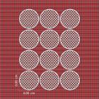 Ядливи текстури - мозайка в кръг