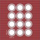 Ядливи текстури - дантелен орнамент #01