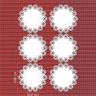 Ядливи текстури - дантелен орнамент #04