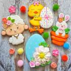 Дигитален видеоурок - Великденски бисквитки #02