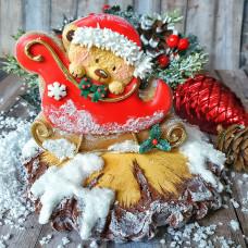 Видеоурок - Коледна 3D бисквитка с роял айсинг