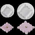 Комплект щампи с форма на цветчета Pavoni #3