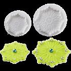 Комплект щампи с форма на цветчета Pavoni #4