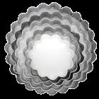 Метални резци - вълнисти кръгове
