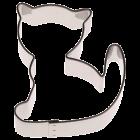 Метален резец - котка 5 см