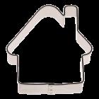 Метален резец - къща 5 см