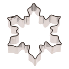 Метален резец - снежинка 5 см