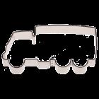 Метален резец - камион 8 см