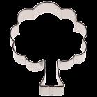 Метален резец - дъб 6 см