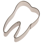 Метален резец - зъбче 6 см