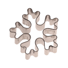 Метален резец - снежинка 6 см