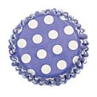 Форма за мъфини - кръгчета на син фон