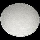 Луксозна кръгла основа Culpitt - сребро - 55 см